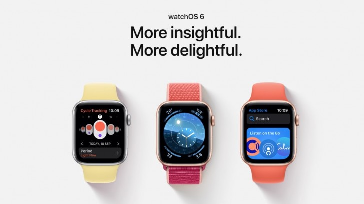 سیستم عامل watchOS 6.1 اپل معرفی شد