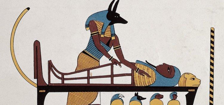 آنوبیس خدای مرگ