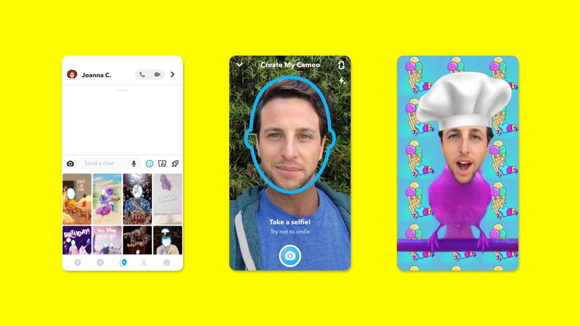 آیا با قابلیت جدید Cameos اسنپ چت اشنا هستید؟