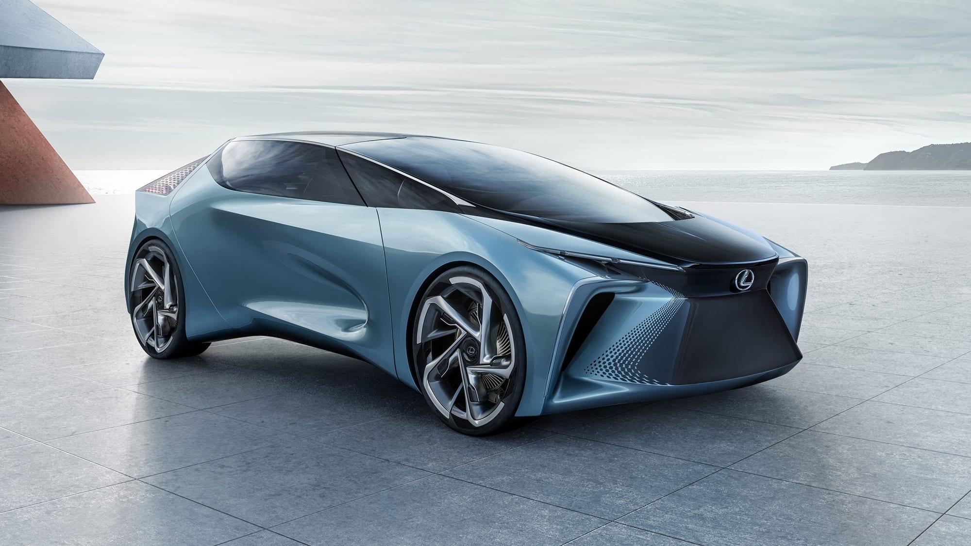 اولین خودرو برقی و خودران لکسوس چه فناوریهایی دارد؟ 1