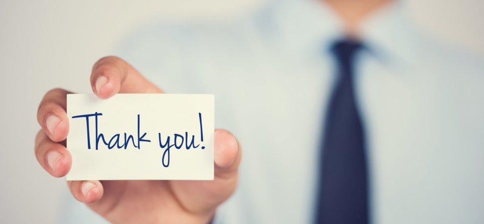 به چه طریق از تیم رهبری شرکت خود تشکر کنید؟