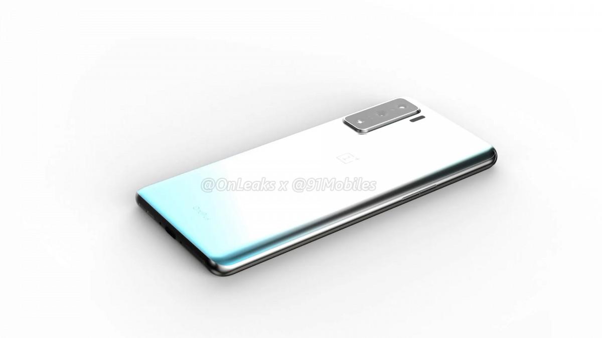 تصاویر جدید گوشی OnePlus 8 Lite نمایشگر حفرهای و برآمدگی مستطیلی دوربین را نشان میدهند 2