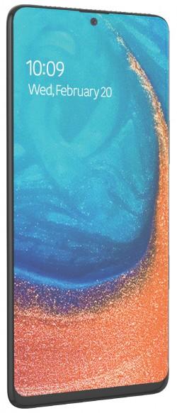 تصاویر گلکسی A71 ظاهر شبیه به گوشی نوت 10 را نشان میدهند