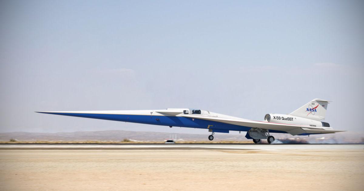 جت مافوق صوت X-59 ناسا برای مونتاژ نهایی آماده است
