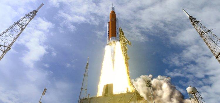 سیستم پرتاب ناسا sls راکت