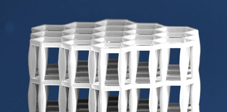 سه بعدی مواد ساختمانی با الهام از استخوان انسان 2