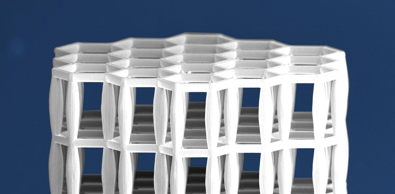 چاپ سه بعدی مواد ساختمانی با الهام از استخوان انسان 2