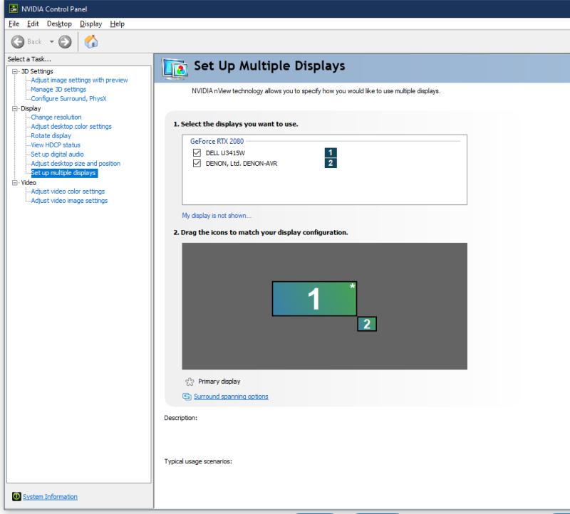 چطور از دو نمایشگر به صورت همزمان در ویندوز 10 استفاده کنید؟