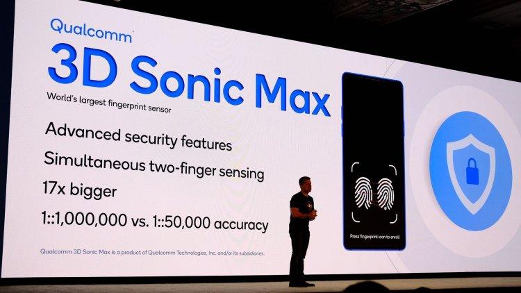 Qualcomm 3D Sonic Max slide tech summit
