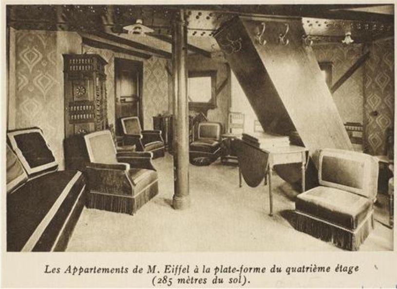 در مورد آپارتمان مخفی بالای برج ایفل چه اطلاعاتی دارید؟
