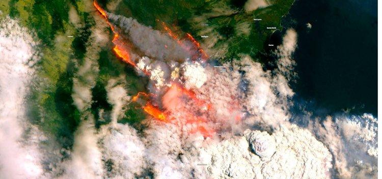 آتش سوزی گسترده در استرالیا