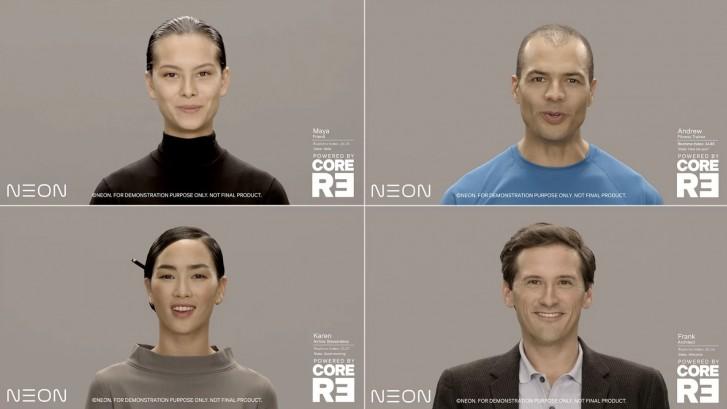 از انسانهای دیجیتالی ساخت سامسونگ و پروژه نئون چه اطلاعاتی دارید؟