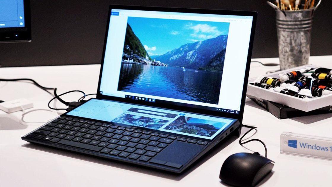 با نوتبوک مجهز به دو نمایشگر ZenBook Duo ایسوس آشنا شوید
