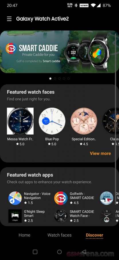 بررسی و نقد ساعت هوشمندGalaxy Watch Active2 31