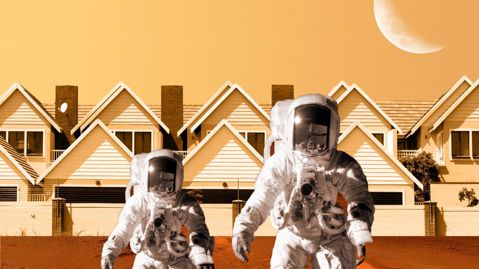 تا سال 2050 چه تعداد انسان روی مریخ ساکن خواهند بود؟ 1