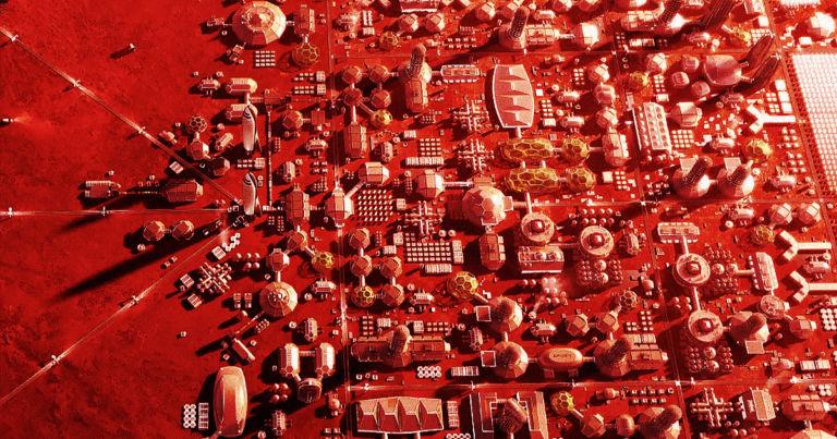 تا سال 2050 چه تعداد انسان روی مریخ ساکن خواهند بود؟