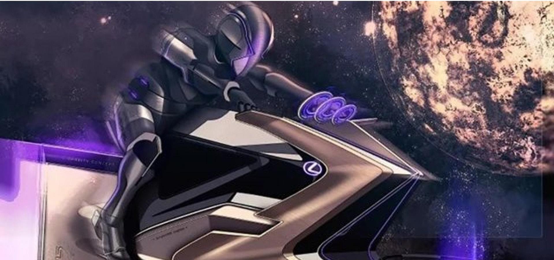 وسیله نقلیه مفهومی فضایی لکسوس