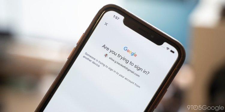 کاربران آیفون حالا میتوانند از آن به عنوان یک کلید امنیتی گوگل نیز استفاده کنند 1