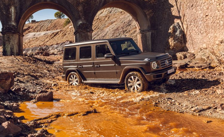 2019 mercedes benz g class revealed full info on the all new g news car and driver photo 700091 s original