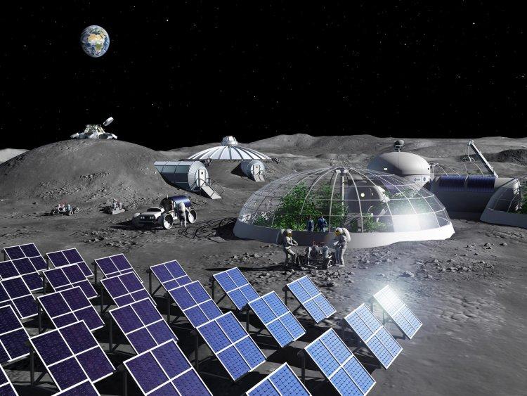 Artist Impression Moon Base scaled 1