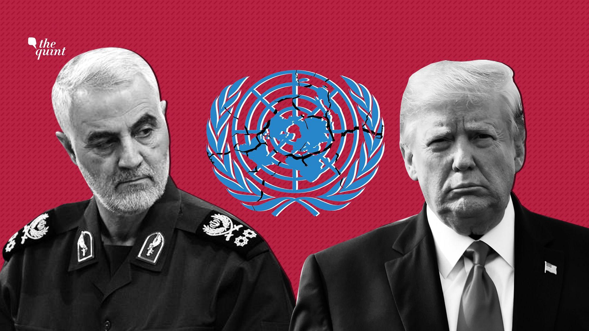 Soleimani International Law Illegal 2
