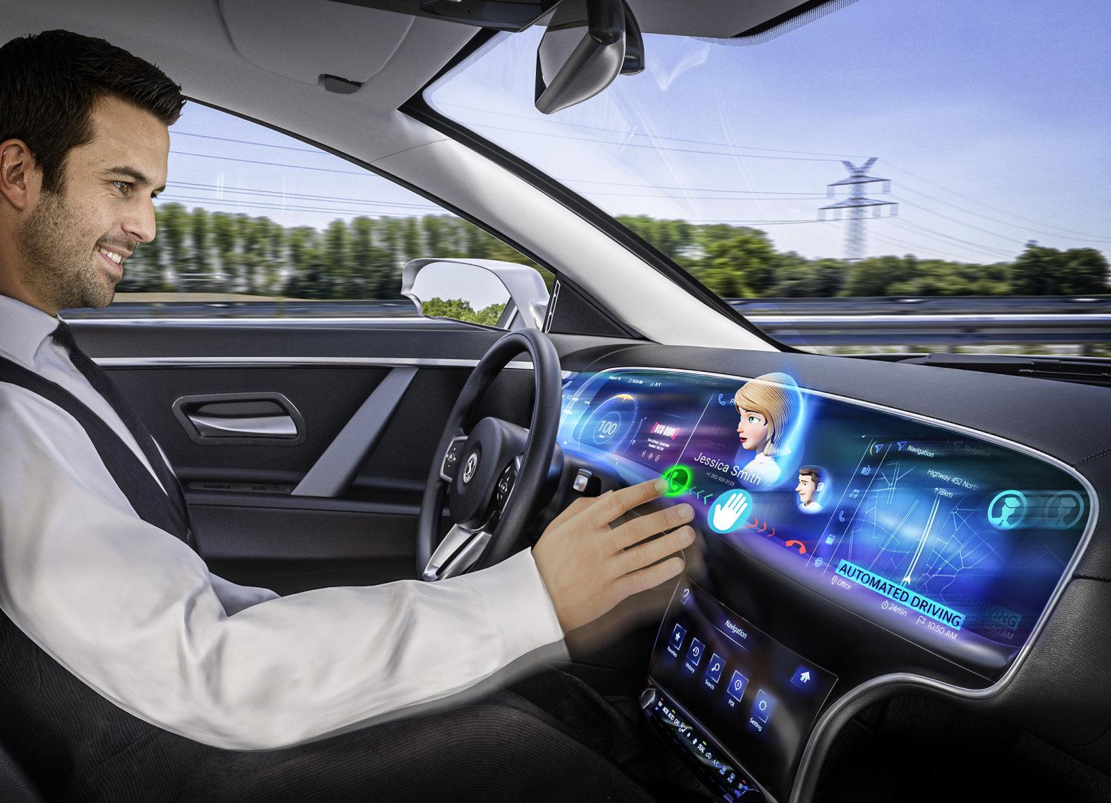 روکیدا - آیا ممکن است در آینده نزدیک خودروها به صفحه نمایش سه بعدی مجهز شوند؟ - خودرو هوشمند