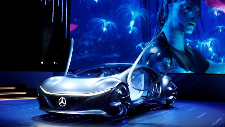 روکیدا - خودروی مفهومی مرسدس بنز، آینده ای شگفت انگیز از اتومبیل های خودران به تصویر میکشد - خودرو هوشمند, مرسدس بنز