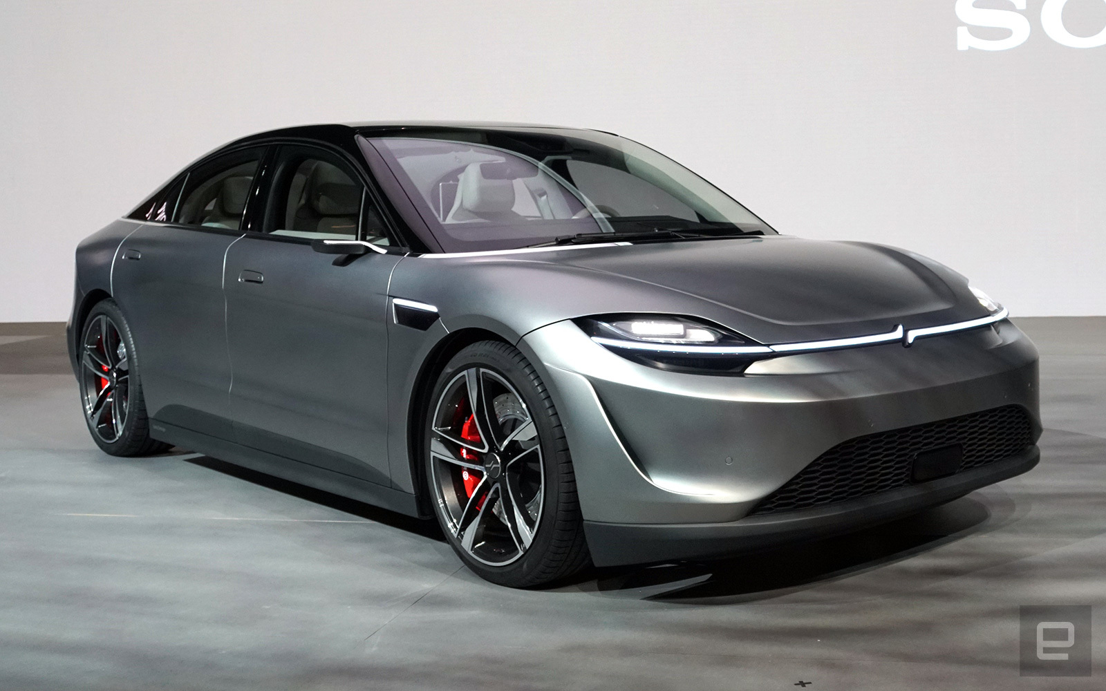 sony vision s concept car 124242