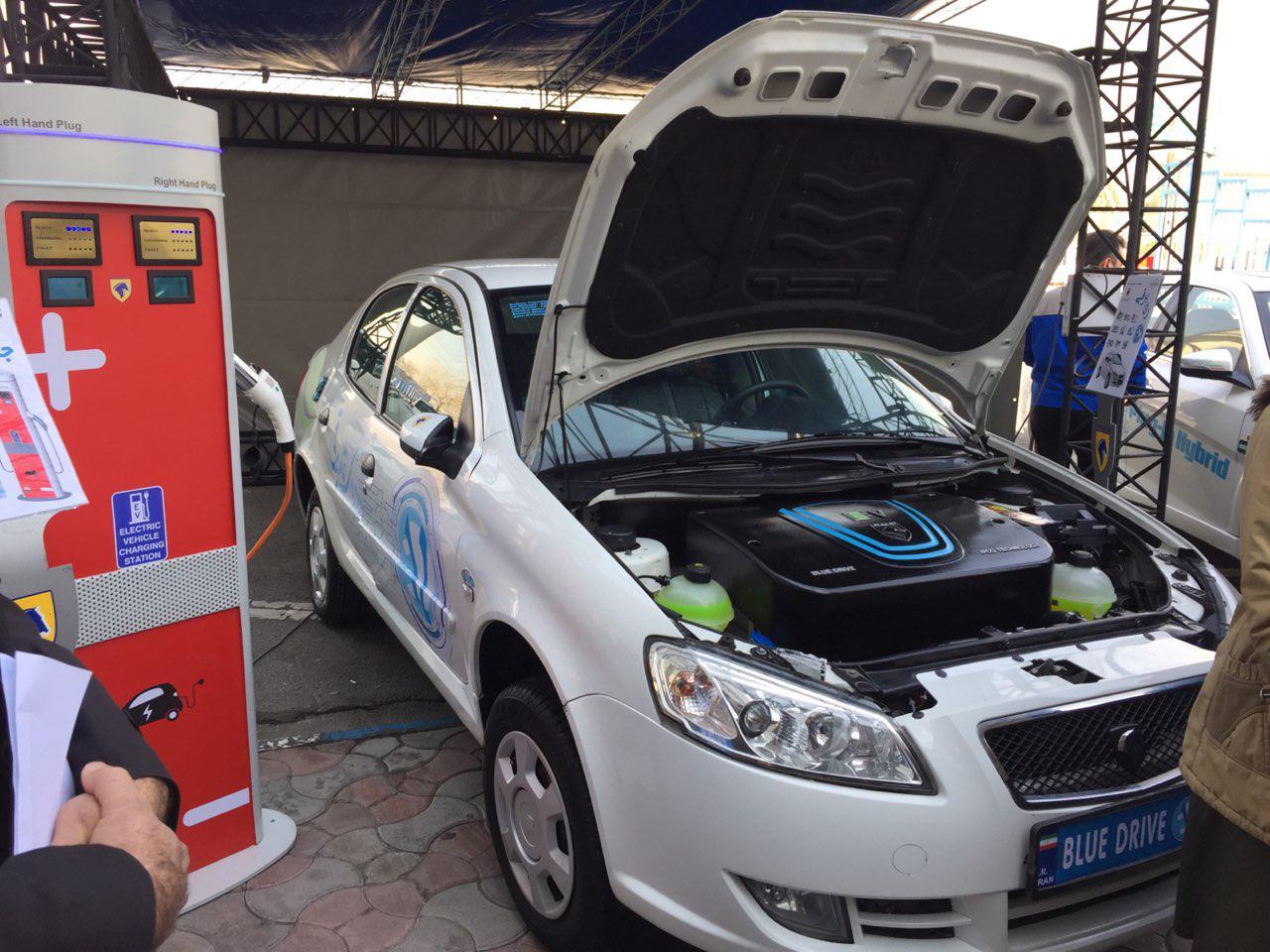 اولین خودروی تمام برقی ایرانی معرفی شد