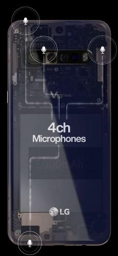 تصاویر گوشی LG V60 ThinQ به بیرون درز پیدا کرد