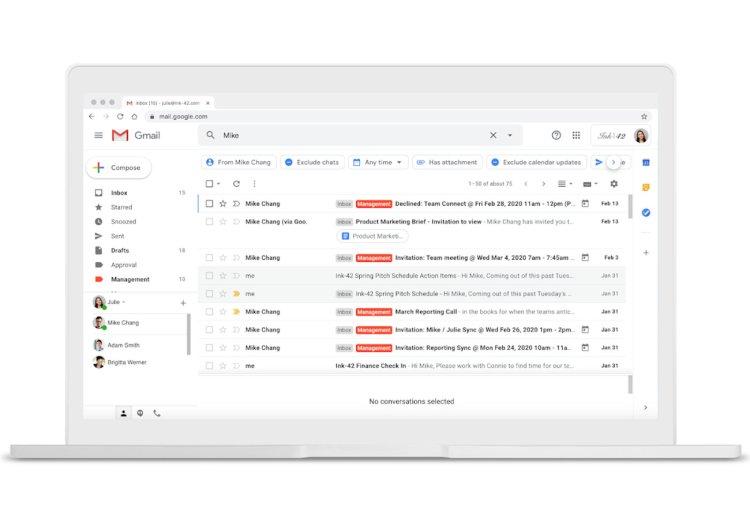 جیمیل برای پیدا کردن راحتتر ایمیلها چه تغییری خواهد کرد؟