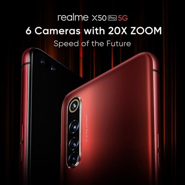 دوربین زوم گوشی Realme X50 Pro چه مشخصاتی دارد؟
