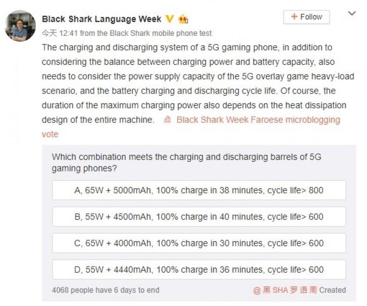 گوشی گیمینگ Black Shark 3 5G رکورد شارژ باتری را خواهد شکست؟