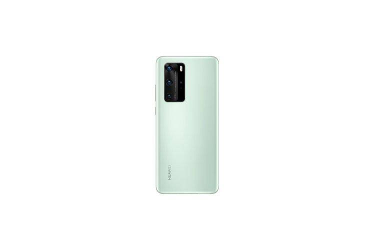 Huawei P40 Pro Mint Green Render