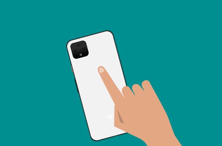 Pixel 4 Double Tap Gesture