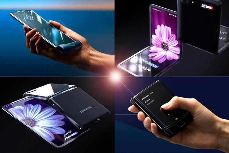 Samsung Galaxy Z Flip vs Motorola Razr Preliminary specs size features and price comparison