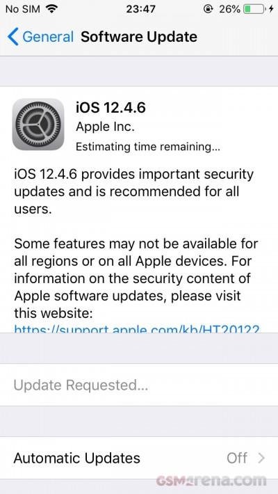اپل برای دستگاههای قدیمیتر اپل خود نیز بهروزرسانی جدید منتشر کرد