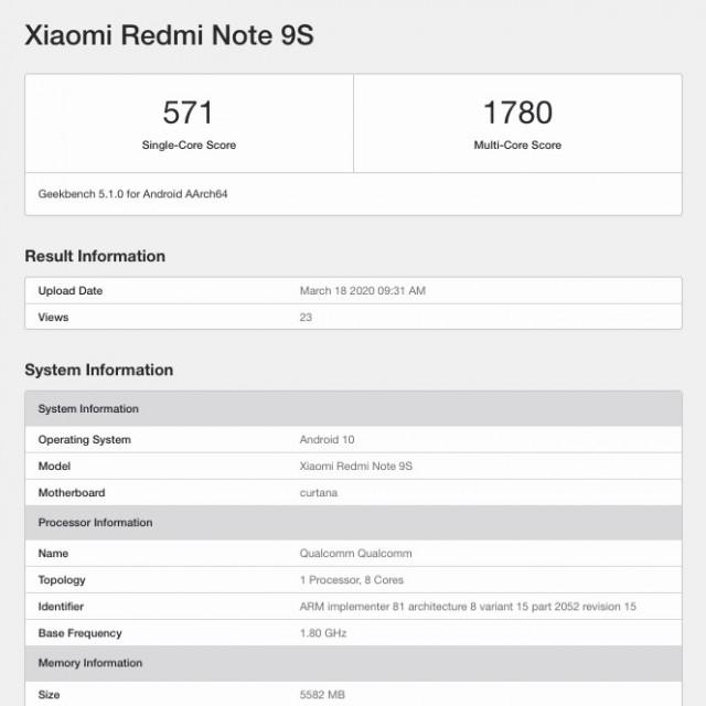 گوشی جدید ردمی نوت 9s چه مشخصاتی دارد؟