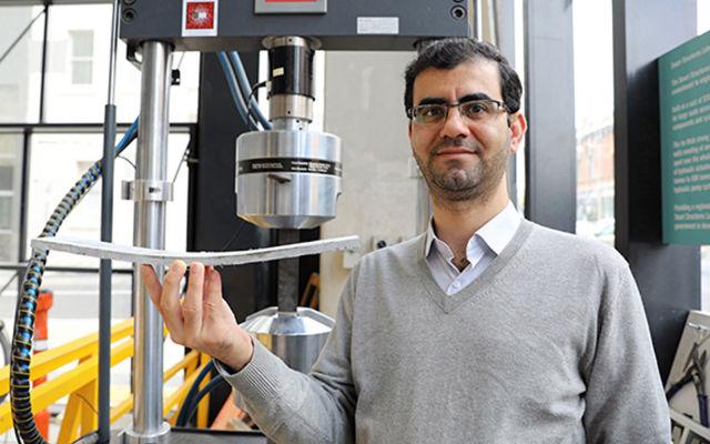 بتن خمشونده برای مقابله بهتر با زلزله به کمک یک محقق ایرانی ساخته شد