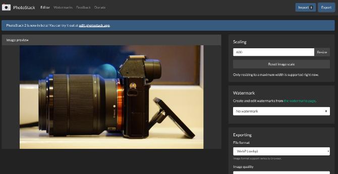 بهترین ویرایشگرهای آنلاین عکس photostack