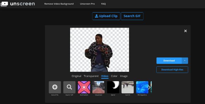 بهترین ویرایشگرهای آنلاین عکس unscreen