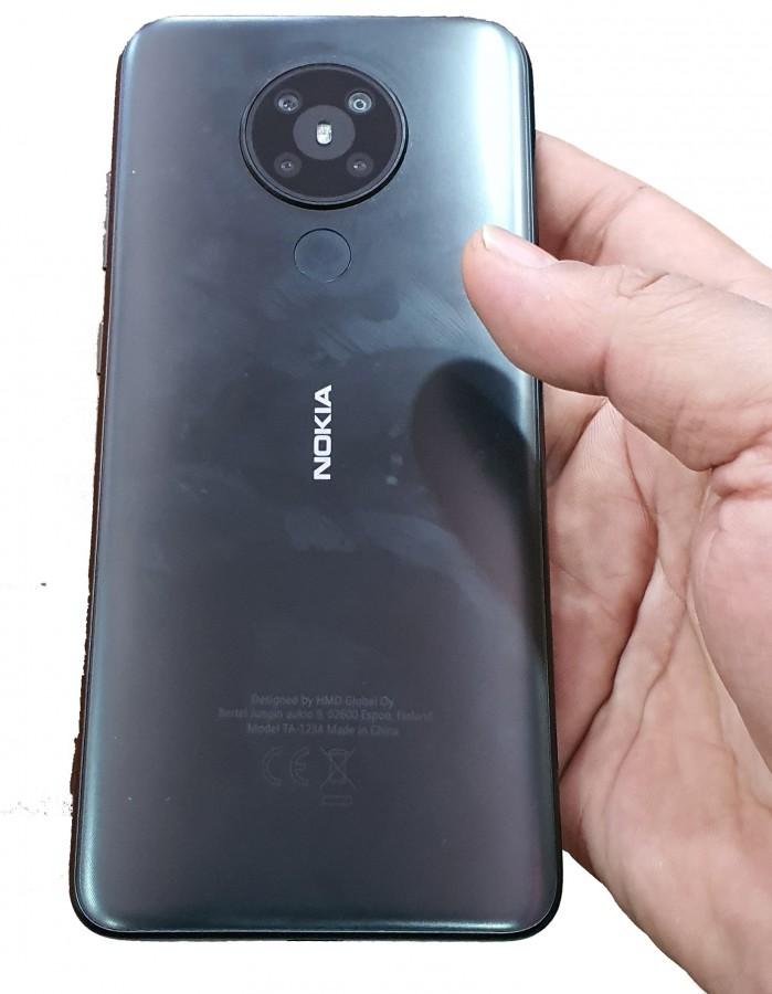 تصویر جدید گوشی نوکیا 5.3 دوربین چهارگانه را نشان میدهد
