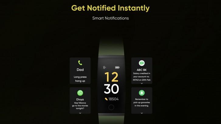 دستبند هوشمند Realme Band (ریلمی بند) رسما معرفی شد