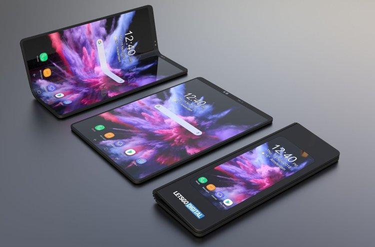 سامسونگ قصد دارد برای گوشیهای هوشمند آینده یک نوع نمایشگر جدید تولید کند 1 1