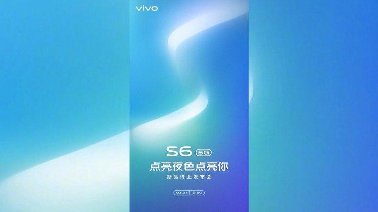 طراحی و مشخصات دوربین گوشی vivo S6 5G مشخص شد