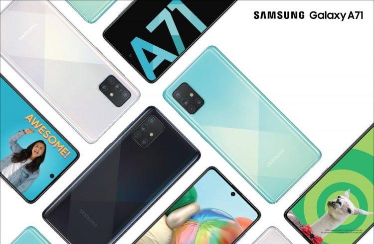 مشخصات کامل گوشی گلکسی A71 5G سامسونگ لو رفت 2