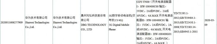 مشخصات گوشی Honor 30s مشخص شد؛ 4 دوربین و سرعت شارژ 40 وات