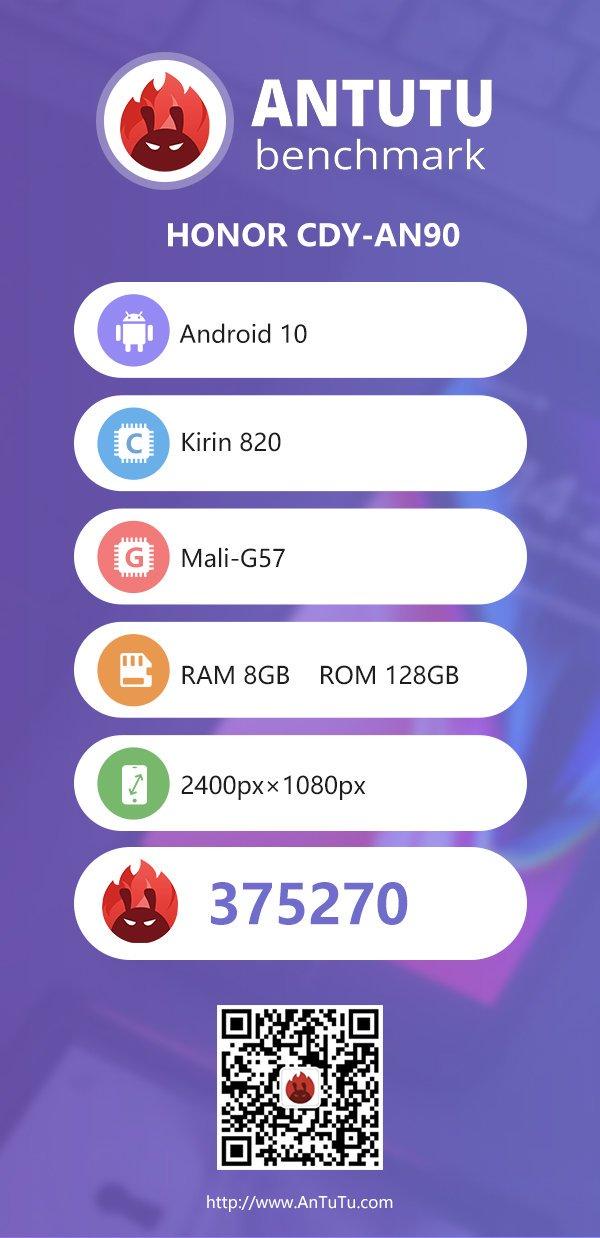 نتیجه بنچمارکهای گوشی Honor 30s از یک گوشی قدرتمند خبر میدهند