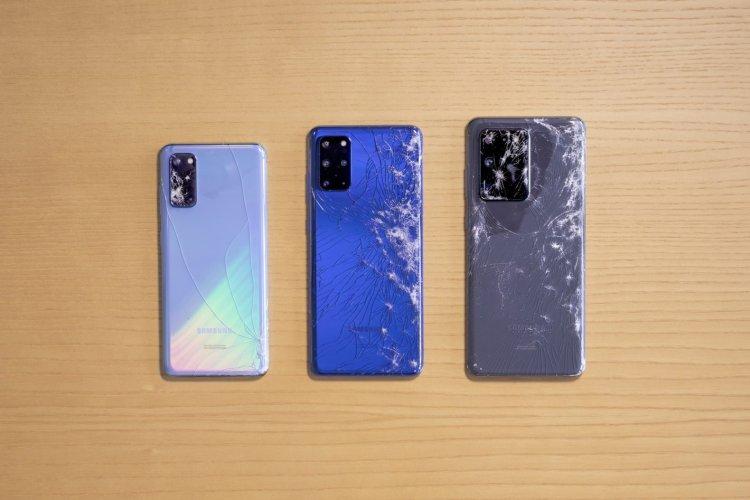 تست شکستن سه گوشی جدید گلکسی اس 20 چطور است؟ 1