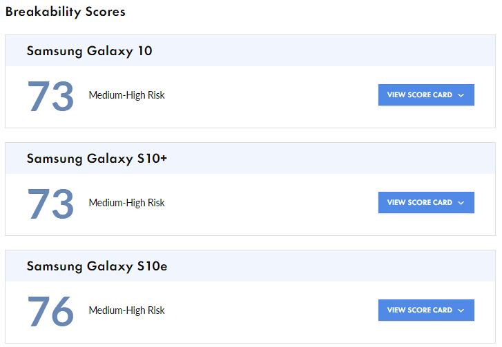 نتیجه تست شکستن سه گوشی جدید گلکسی اس 20 چطور است؟